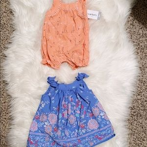 2 Baby Girl Summer Outfit Gap Dress